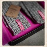 Dames SOXS - Bubble gum/ Grey - Low_