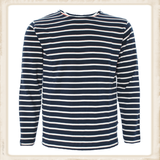 Adult Classic Breton Shirt - naturel navy_
