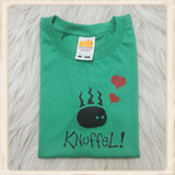 "Print met ""knuffel"" van Stout Konijn_"