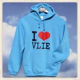 """Hoodie """"I Love Vlie""""_"""