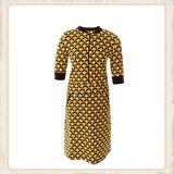 Retro Design zipper dress_