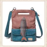 Fishy - Aqua / oudroze_