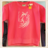 "Kinder sweater met print ""Vlieland Pony""_"