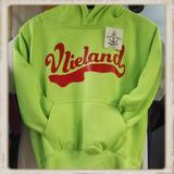 Kinder hoodie met supervlie print _