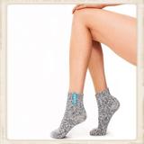 Dames SOXS - Crystal sea /Grey - Low - Anti Slip_