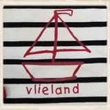 Ecru shirt met zeilboot_