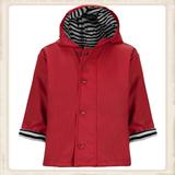 Rode regenjas voor kinderen_