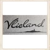 """Kinder hoodie met print """"Vlieland eiland""""_"""
