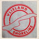 """Hoodie met """"Vlieland Shoreline""""_"""