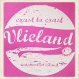 "Hoodie ""Coast to Coast Vlieland, independent island""_"