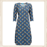 Ijsvogel jurk van Vrolijke Famkes_