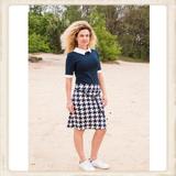 Skirt Nice Blue and white design_
