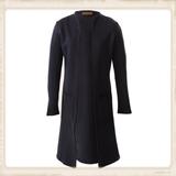 Vest Long Basic dark blue_