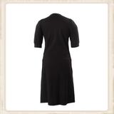 Basic Black zipper dress_
