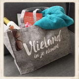 """""""Vlieland in je element"""" vilten tas_"""