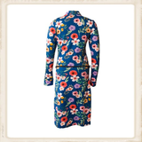 Cobalt Blue Flower dress_