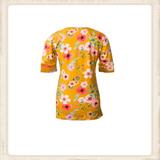 Top Happy Yellow Flower_