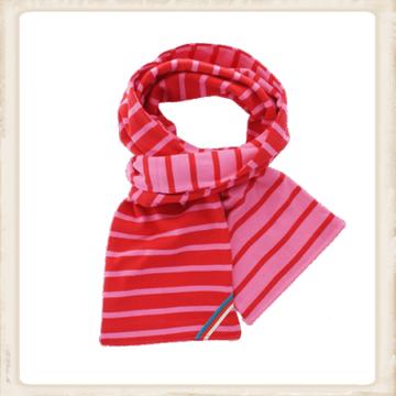 Sjaal dubbel - fuchsia red