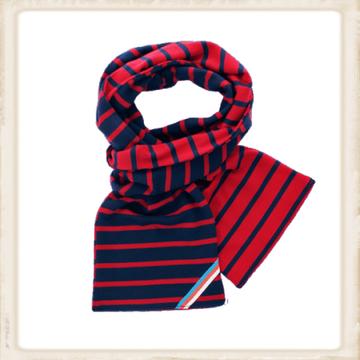 Sjaal dubbel - bordeaux navy