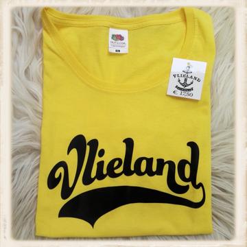 Print met Vlieland in Superdry-style