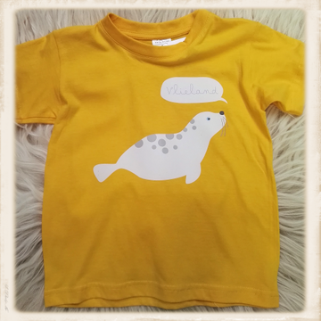 Print met zeehondje