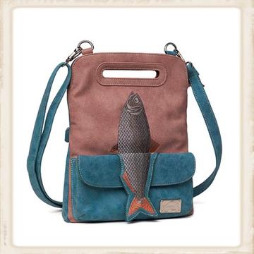 Fishy - Aqua / oudroze