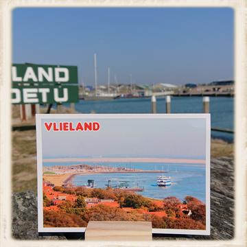 Kaartje 'Vlieland'