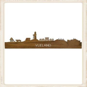 Skyline Vlieland - noten hout