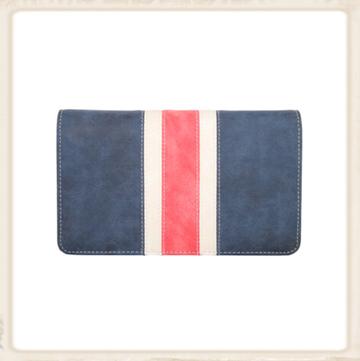 Score navy blue/red