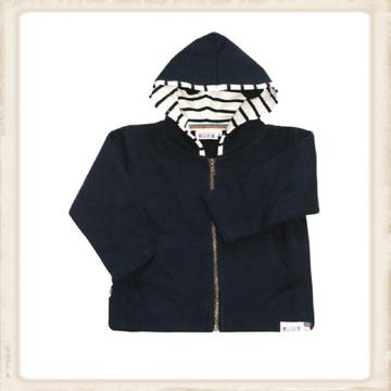 Bretonse baby Hoody - navy