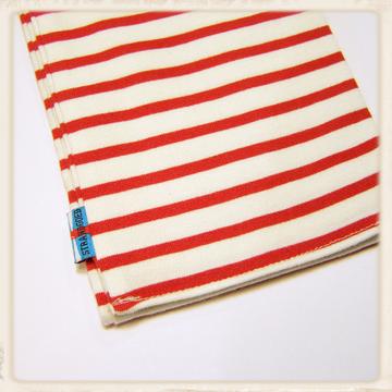 Streep sjaal rood