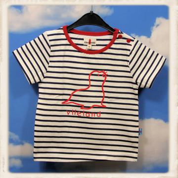 Ecru T-shirt met zeehond