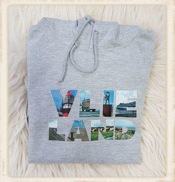 Vlieland hoodie met fotoprint