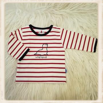 Rood shirt met zeehond