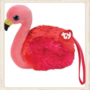 Ty portemonnee Gilda flamingo