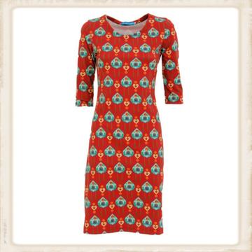 Koekoeksklok jurk van Vrolijke Famkes