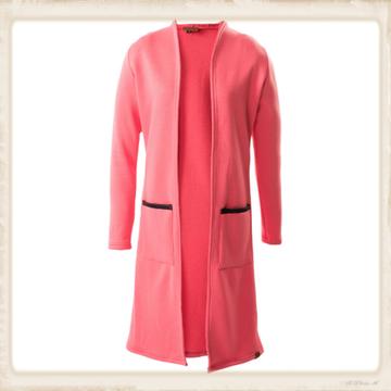 Vest Long Basic pink