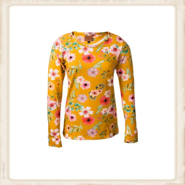 Longsleeve Happy Yellow Flower