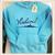 """Kinder hoodie met print """"Vlieland eiland"""""""