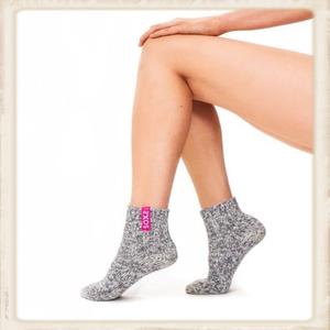 Dames SOXS - Bubble gum/ Grey - Low