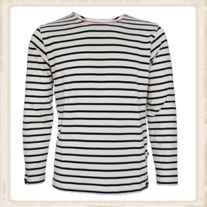 Adult Classic Breton Shirt - naturel navy