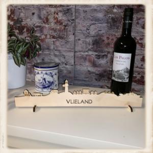 Skyline Vlieland - blank hout