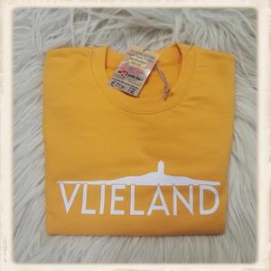 "Sweater met print ""eiland 219"""