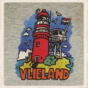 """Sweater met print """"old skool vuurtoren"""""""