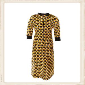 Retro Design zipper dress