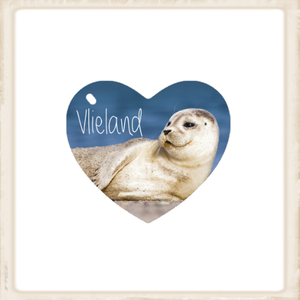 Sleutelhanger zeehondje 'Vlieland'