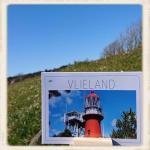Gratis kaart Vlieland vuurtoren