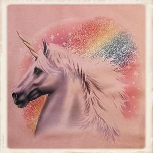 """sweater met print """"Eenhoorn"""""""