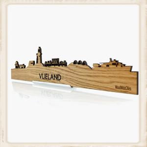 Skyline Vlieland - eiken hout