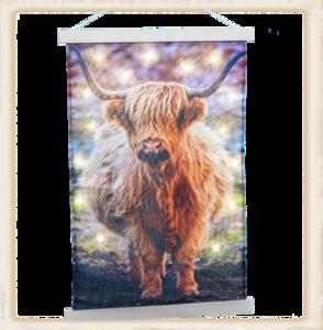 Wandkleed Schotse Hooglander